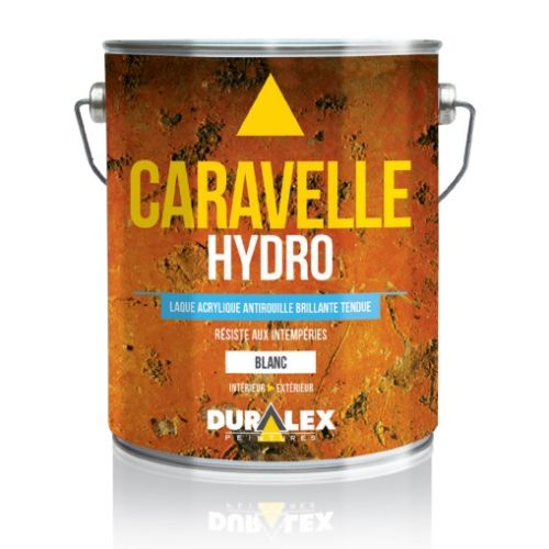 Laque acrylique antirouille de finition Caravelle Hydro - DURALEX - 108300101 pas cher Principale L