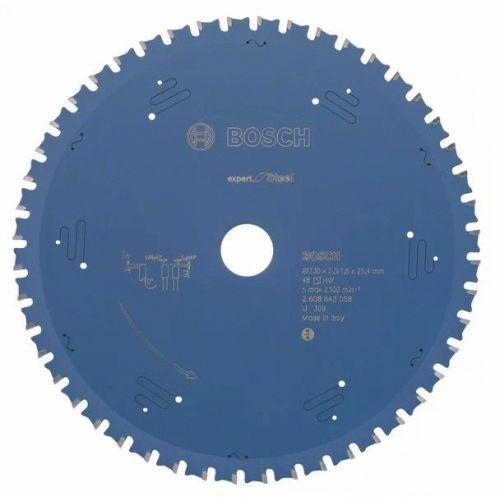 Lame de scie circulaire 230x25,4x1,6 mm pour le métal - 48 dents - BOSCH EXPERT - 2608643058 pas cher Secondaire 2 L