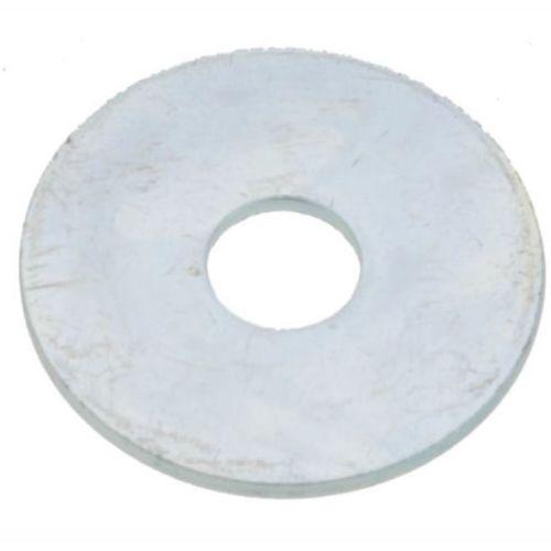 Rondelle plate extra large Ultima acier zingué blanc NFE 25513 photo du produit