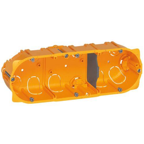 Boîte BATIBOX pour cloisons sèches 3 postes 40mm LEGRAND 080043 photo du produit Principale L