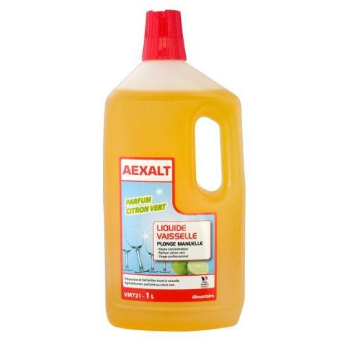 Liquide vaisselle Aexalt parfum citron vert photo du produit