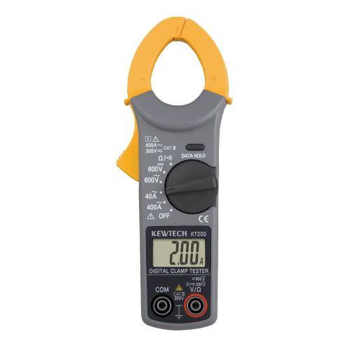 Pince multimètre amperemétrique CA - GENERAL TOOLS - KT200 pas cher Principale L