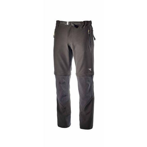 Pantalon TRAIL gris acier ou noir DIADORA photo du produit