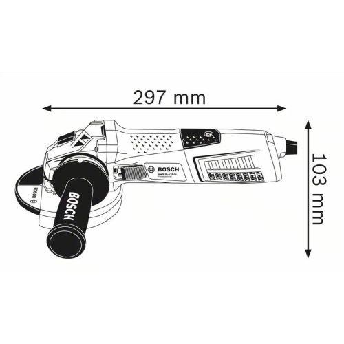 Meuleuse angulaire Bosch GWS 13-125 CI Professional photo du produit Secondaire 2 L