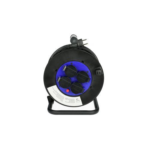 Enrouleur électrique 25 m section 3G 1,5 mm² H05RR-F - HANGER - 600004 pas cher