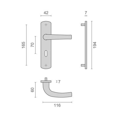 Ensemble sur plaques aluminium Héraclès Salomé Home petites plaques - EA70 photo du produit Secondaire 14 L