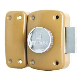 Verrou à bouton Héracles Eco cylindre pas cher