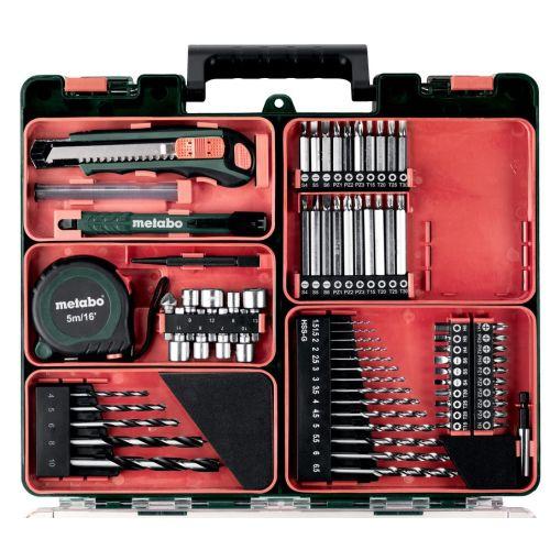 Perceuse-visseuse sans fil Metabo BS 18 LT Set 18 V + 2 batteries 2 Ah + chargeur ASC 55 + accessoires photo du produit Secondaire 1 L