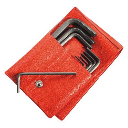 Jeu de 12 clés mâles métriques 6 pans diamètres 1,5 à 12,0 mm en trousse - FACOM - 82H.JL12 pas cher Principale L