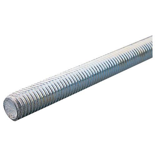 Tige filetée en acier zingué 8/8 DIN 975 longueur 1000mm diamètre 18mm - ULTIMA - 93218250 pas cher Principale L