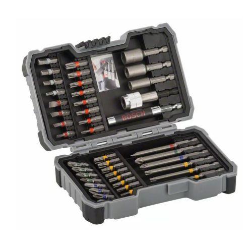 Coffret d'embouts de vissage Bosch Extra Hard + douilles 43 pièces photo du produit