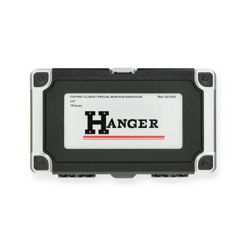 Coffret cliquet spécial montage radiateur - HANGER - 251001 pas cher Secondaire 1 L