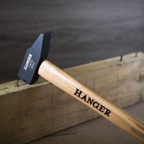 Marteau de mécanicien rivoir manche bois Hickory 30 mm - HANGER - 110711 pas cher Secondaire 2 L