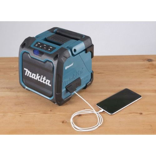 Radio bluetooth 18V double alimentation (machine seule) en boite carton - MAKITA - DMR200 pas cher Secondaire 4 L