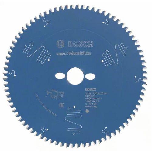 Lame de scie circulaire 254x30x2,8 mm pour l'aluminium - 80 dents - BOSCH EXPERT - 2608644112 pas cher Secondaire 1 L