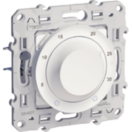 Odace, thermostat Blanc, 8 A chauffage / climatisation photo du produit