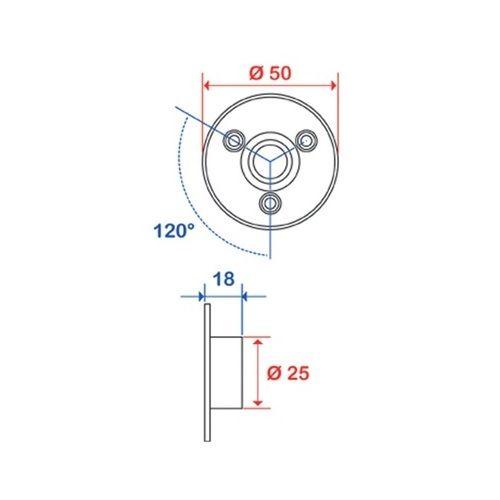 Embase Pellet pour porte-rideaux photo du produit Secondaire 1 L