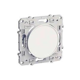 Odace - Obturateur blanc (RAL 9003) - Fixation par vis pas cher