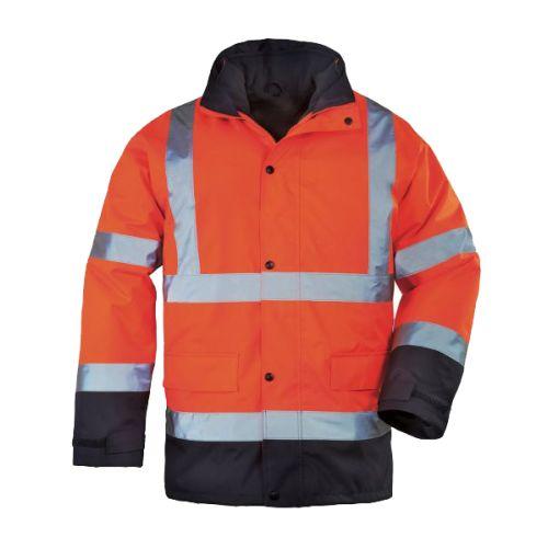 Parka de travail haute visibilité 4 en 1 Coverguard ROADWAY photo du produit