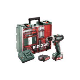 Perceuse-visseuse sans-fil Metabo Powermaxx BS 12 V + 2 batteries 2 Ah + chargeur + coffret photo du produit
