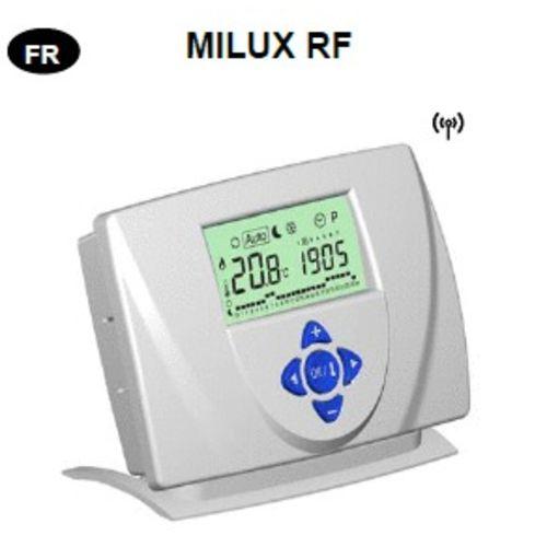 THERMOSTAT DIGITAL PROGRAMMABLE MILUX RADIO FRÉQUENCES photo du produit