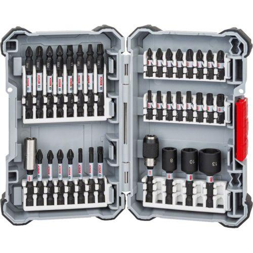 Coffret d'embouts de vissage Bosch Impact Control 36 pièces photo du produit