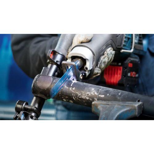 Lame de scie sabre Expert Medium-Thick Tough Metal S 1155 HHM - BOSCH EXPERT - 2608900374 pas cher Secondaire 2 L