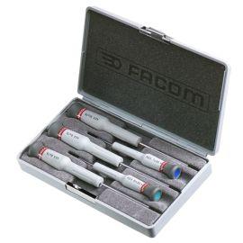 Coffret de 5 tournevis Micro-Tech® Torx® Facom AEX.J1 photo du produit