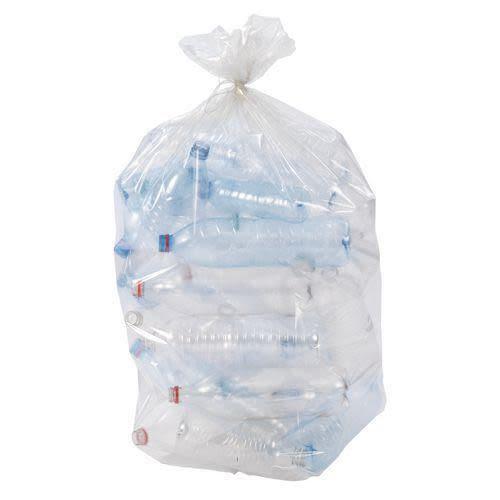 Sacs poubelles transparents photo du produit