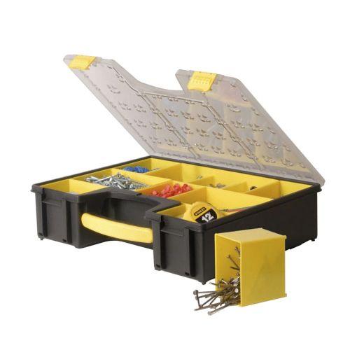 Boîte à outils de rangement à 8 compartiments Pro - STANLEY - 1-92-749 pas cher