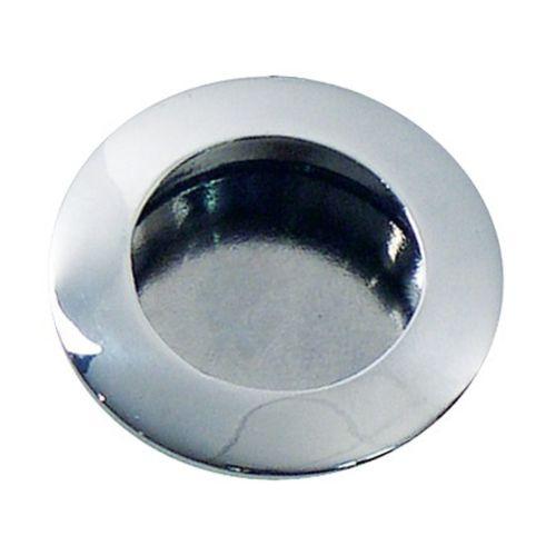 Poignée Ø40 encastrée chromée - CADAP - P0035/4S pas cher Principale L