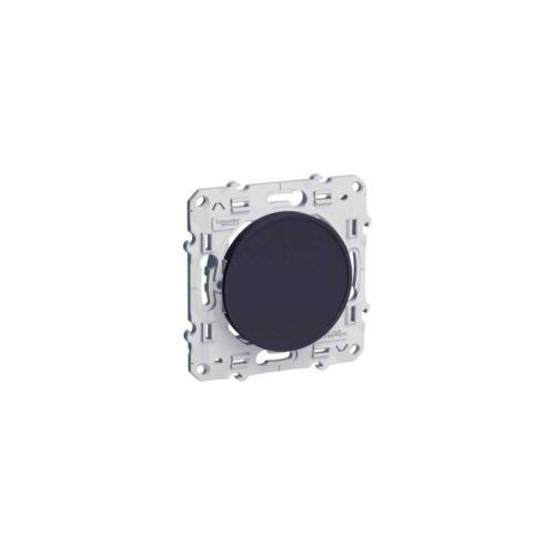 Obturateur ODACE anthracite à vis - SCHNEIDER ELECTRIC - S546666 pas cher Principale L