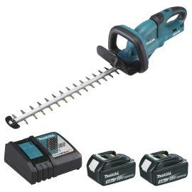 Taille-haie sans-fil Makita 55 cm DUH551RF2 36 V + 2 batteries 3 Ah + chargeur pas cher
