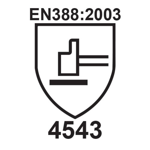 Gant anti-coupure niveau 5 HDPE PU gris photo du produit Secondaire 1 L