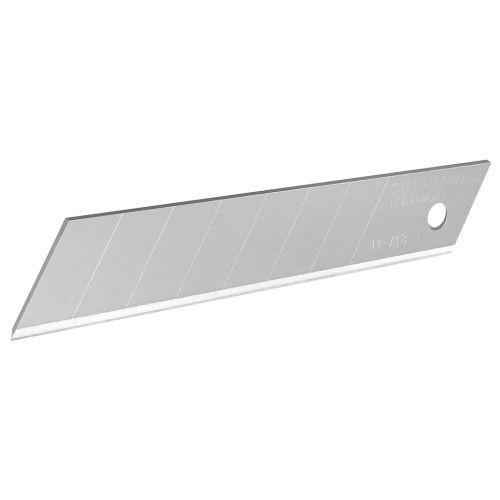 10 lames sécables de cutter 18 mm - STANLEY FATMAX - 2-11-718 pas cher