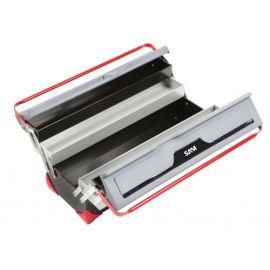 Caisse à outils bi-matière 5 cases Sam Outillage BOX photo du produit Principale M