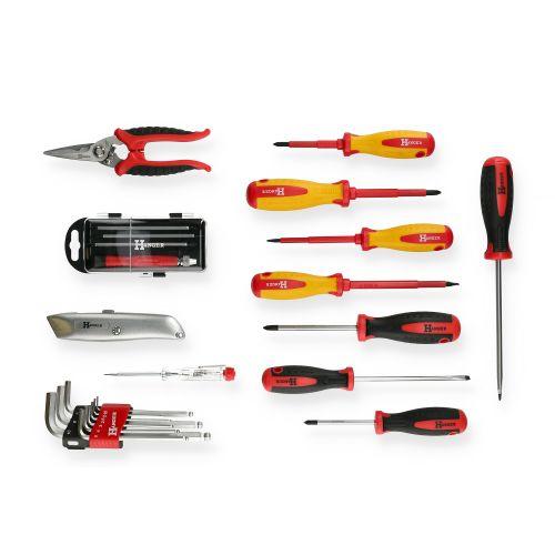 Mallette de 121 outils professionnels - HANGER - 251009 pas cher Secondaire 5 L