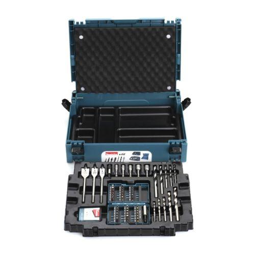 Coffret d'accessoires 66 pièces en coffret MAKPAC - MAKITA - B43044 pas cher Principale L