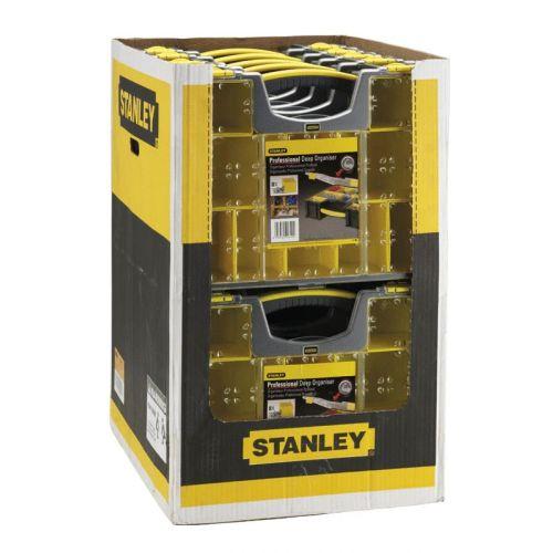 Boîte à outils de rangement à 8 compartiments Pro - STANLEY - 1-92-749 pas cher Secondaire 4 L