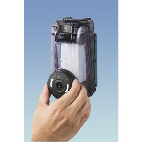 Perforateur SDS-Plus sans-fil 40 V 28 mm (machine seule) en coffret Makpac - MAKITA - HR002GZ02 pas cher Secondaire 6 L