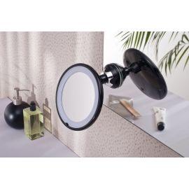 Miroir grossissant lumineux à ventouse PRADEL pas cher