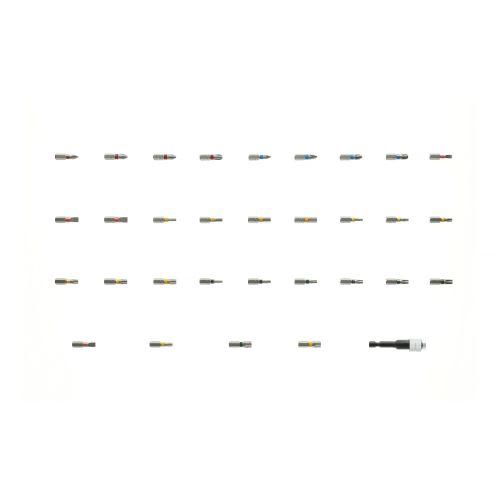 Coffret d'embouts couleurs de 32 pièces - HANGER - 250002 pas cher Secondaire 1 L