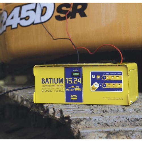 Chargeur BATIUM 15.24 6 /12 / 24 V 225 Ah - GYS - 024526 pas cher Secondaire 2 L