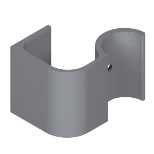 Support 60mm pour poignée DIVA finition gris alu - LA CROISEE DS - DS6874-007 pas cher Principale L