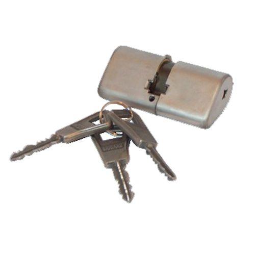 Cylindre OVOIDE SUPER-SURETE double entrée sans bille 39.5x39.5 - BRICARD - 818000 pas cher Principale L