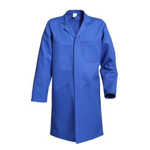 Blouse à col tailleur New Pilote® bleu bugatti taille M - MUZELLE DULAC - NEWPILOTEBL10AS03-T2 pas cher Principale L