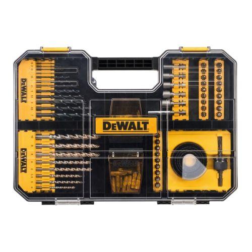 Coffret de 100 accessoires de vissage et perçage T-STAK - DEWALT - DT71569 pas cher Secondaire 5 L