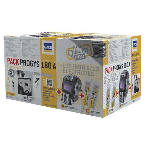 Pack soudure PROGYS 180A - GYS - 013742 pas cher Secondaire 1 L