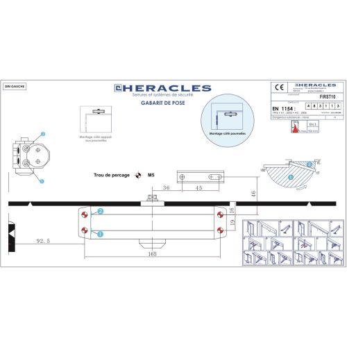 FP FIRST 10 HERACLES BRAS COMPAS ARG photo du produit Secondaire 2 L