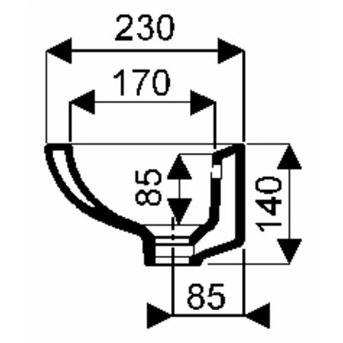 Lave-mains Linea photo du produit Secondaire 2 L
